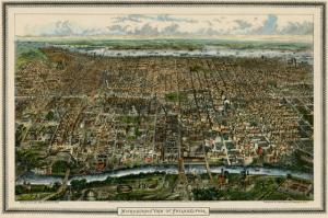 Map of Philadelphia Smaller